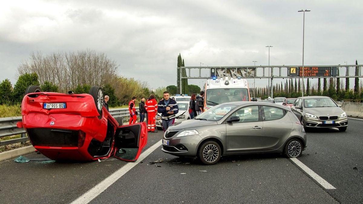 Qué hacer ante un accidente de tráfico