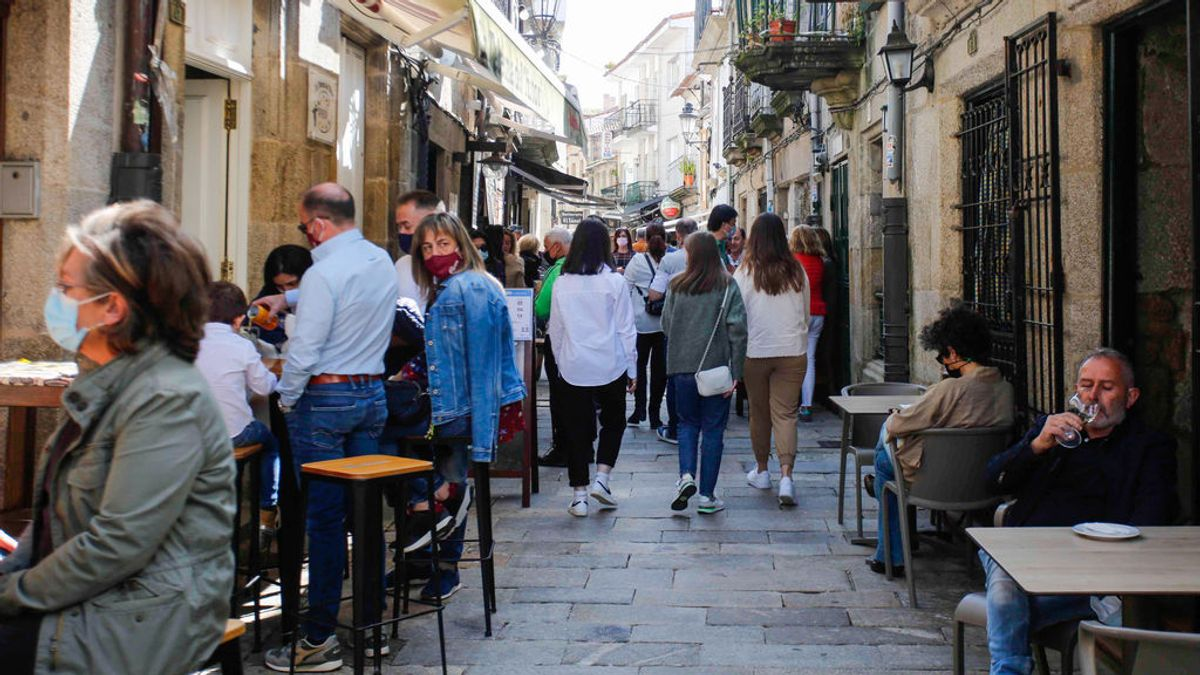 La incidencia acumulada de España vuelve a riesgo alto