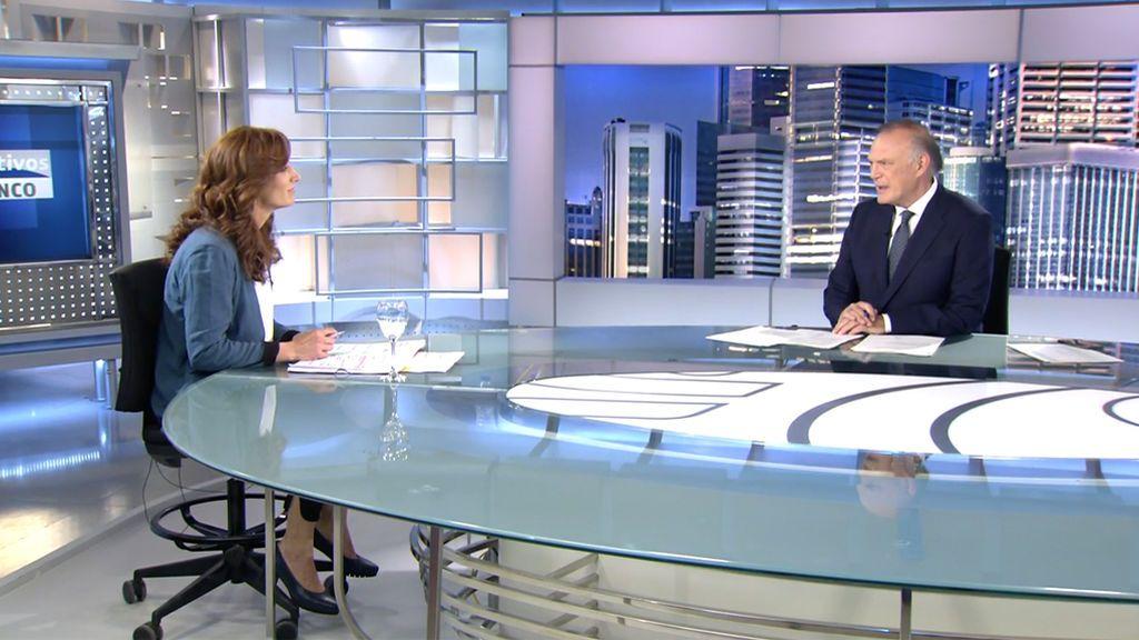 La entrevista a Mónica García con Pedro Piqueras en Informativos Telecinco, íntegra