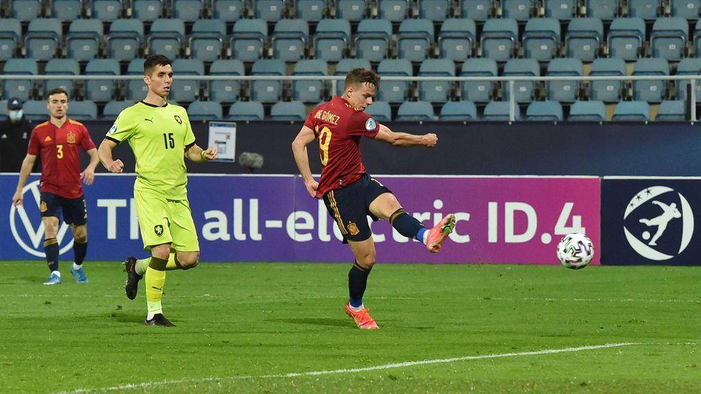 Manu García hizo la magia y Dani Gómez puso su definición para la sentencia (2-0)