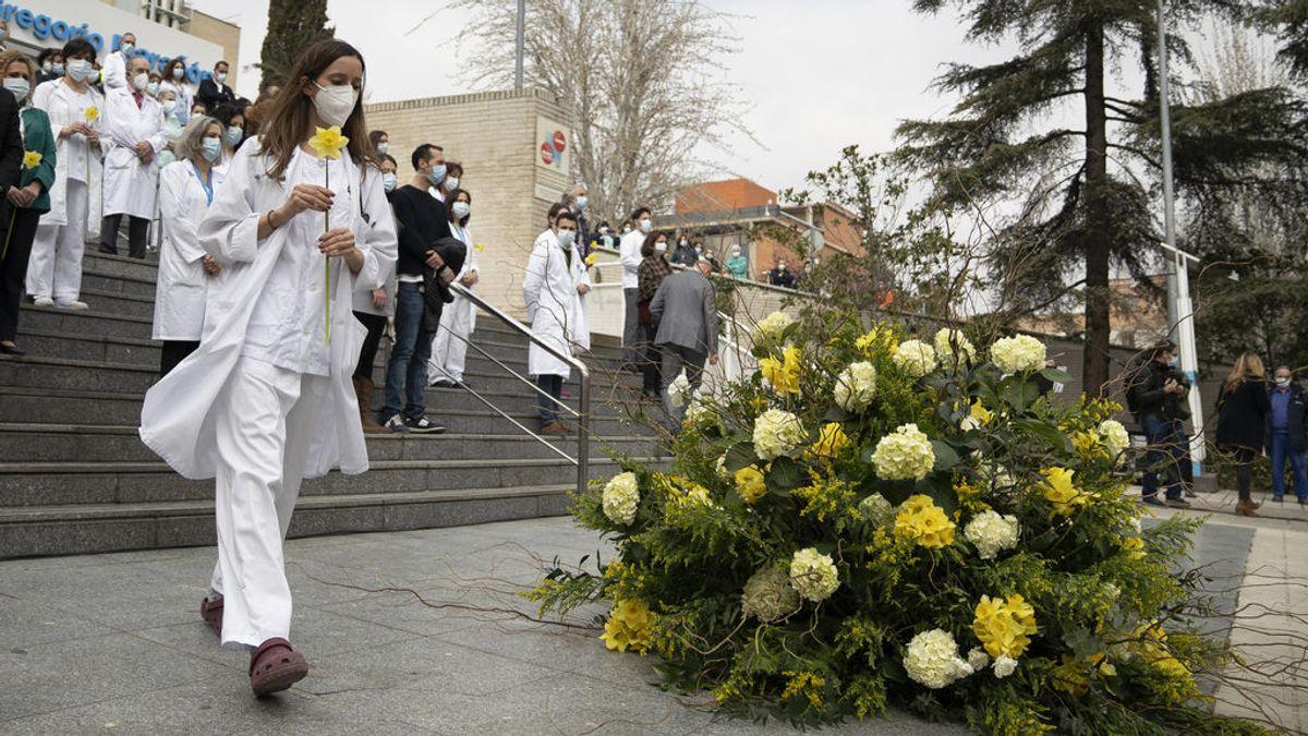Enero es el segundo mes con más muertos por covid en España tras superar a marzo de 2020