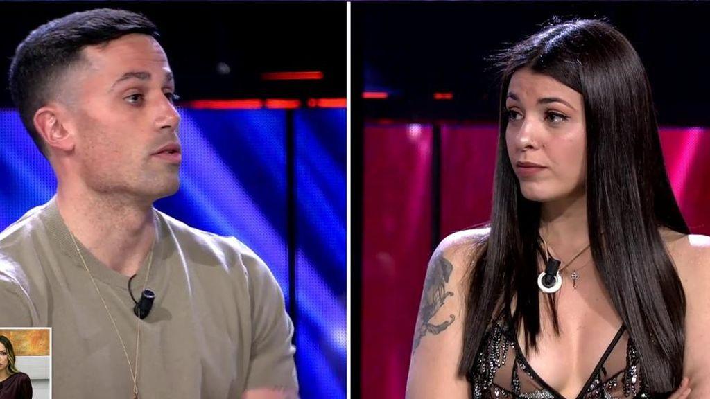 El reencuentro de Diego y Lola en 'El debate de las tentaciones'