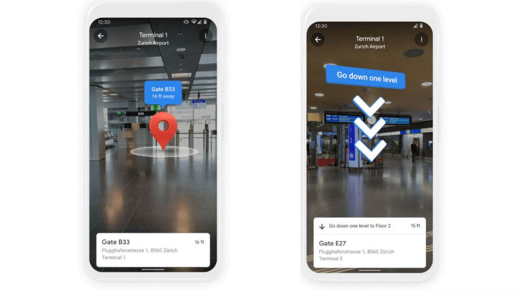 Llega Indoor Live View, el Google Maps para no perderse en el interior de edificios