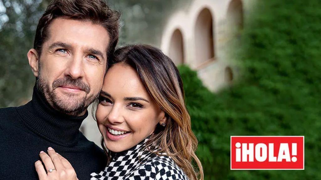 El posado con el que Chenoa y Miguel S. Encinas anunciaron su boda