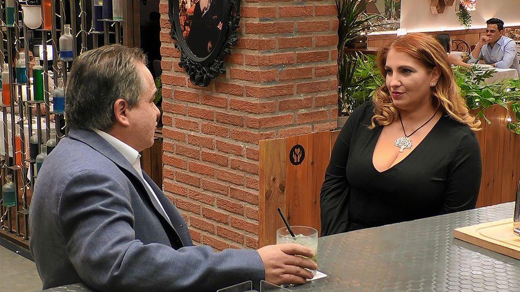 José Luis y Belén en el programa 'First Dates'