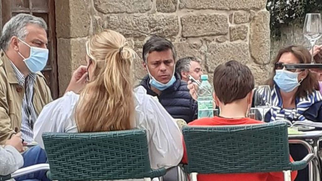"""Leopoldo López, tras ser multado por saltarse el cierre perimetral: """"Estoy en Galicia reunido con compatriotas exiliados"""""""