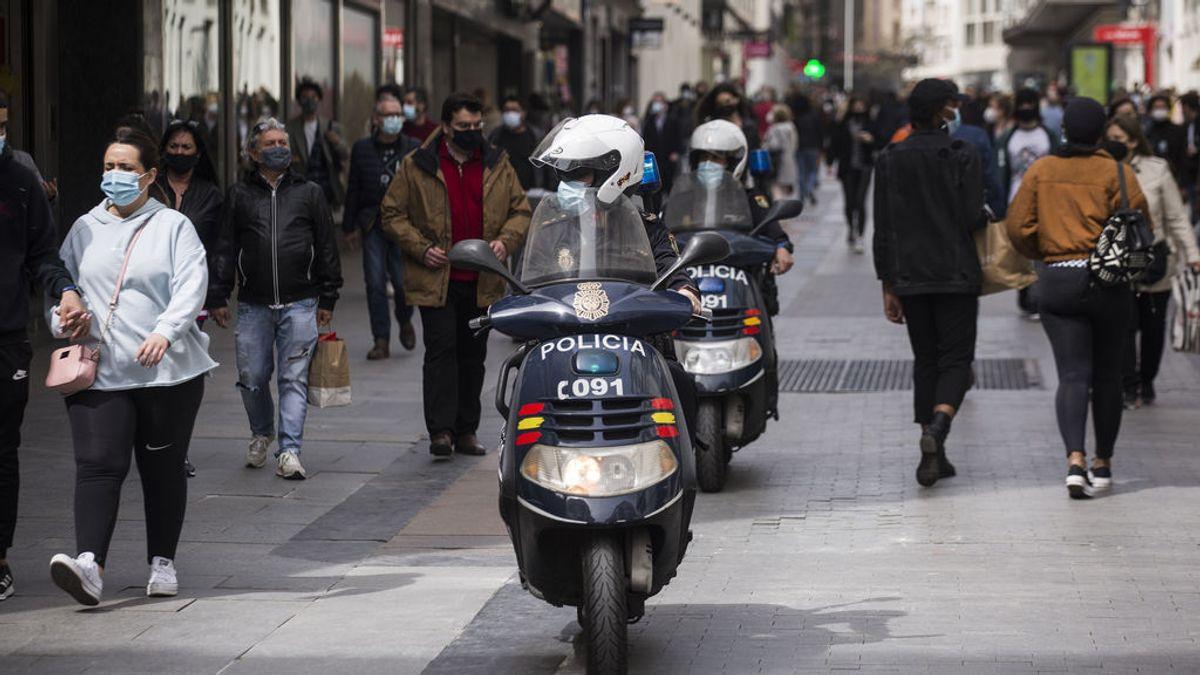Madrid sufre un aumento a 2.102 casos antes de los festivos de Semana Santa