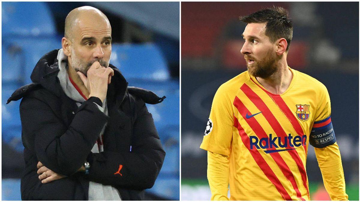 Pep Guardiola y Messi, lejos de volver a cruzar sus caminos.
