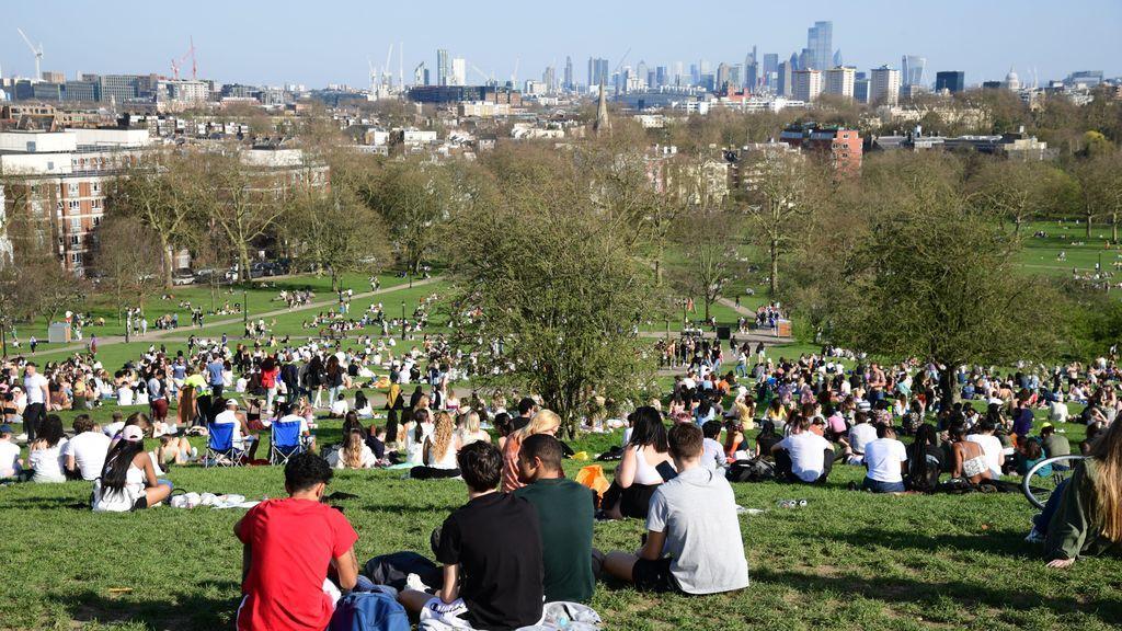 Reino Unido registra su temperatura más alta para un día de marzo en 53 años