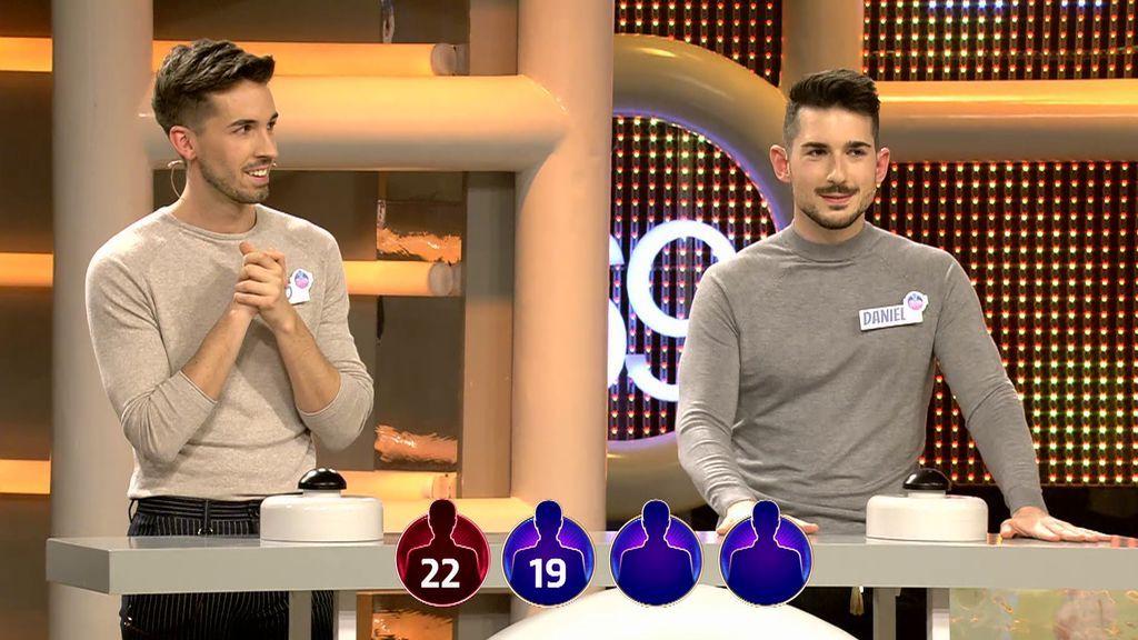 Pablo y Daniel ganan 4.750 euros