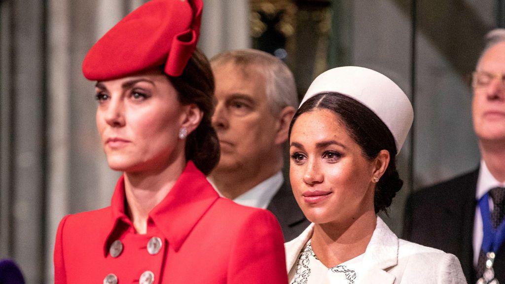 Meghan Markle y Kate Middleton, historia de una relación tensa: cómo se pueden superar las diferencias entre cuñadas.