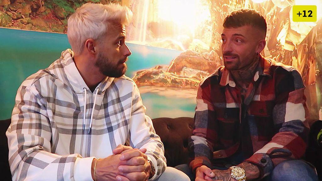 Rubén Sánchez se confiesa con Cristian y desvela en qué punto se encuentra su relación con Fani (1/2)
