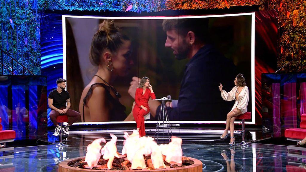 Último encuentro entre las parejas y los solteros La isla de las tentaciones Temporada 3 Debate 11