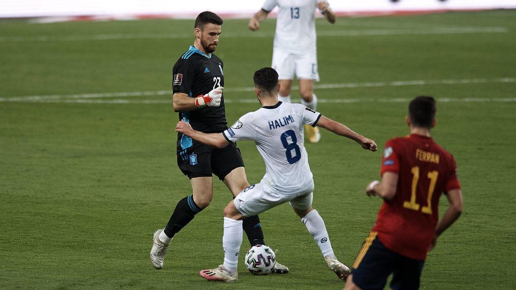 La portería de España vuelve a dejar muchas dudas de cara a la Eurocopa