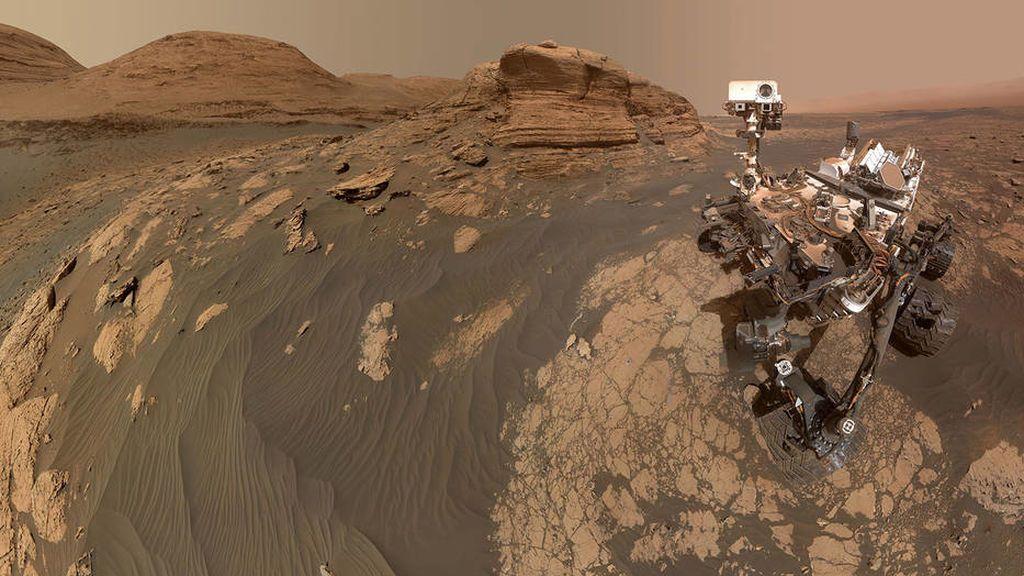 ¡Descubierta una nueva cordillera en Marte! Esta es la primera foto del 'Mont Mercou'