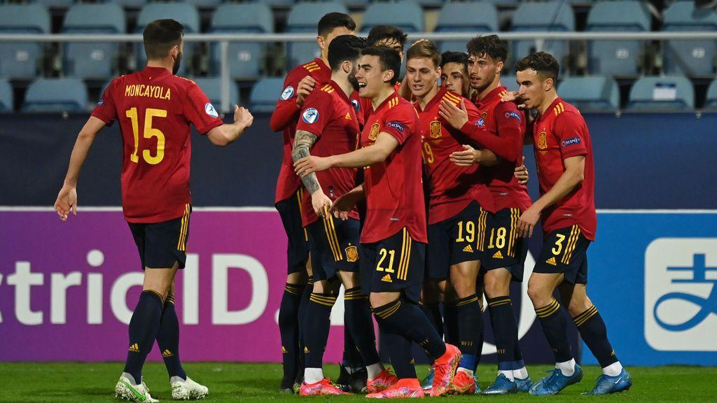 Los cruces de cuartos del Europeo Sub21: España se verá las caras contra Croacia