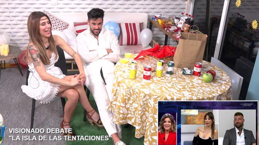 """Bea y Dani G. alucinan con el reencuentro de Fani y Rubén: """"En un 24 horas, acabarían juntos en la cama"""""""