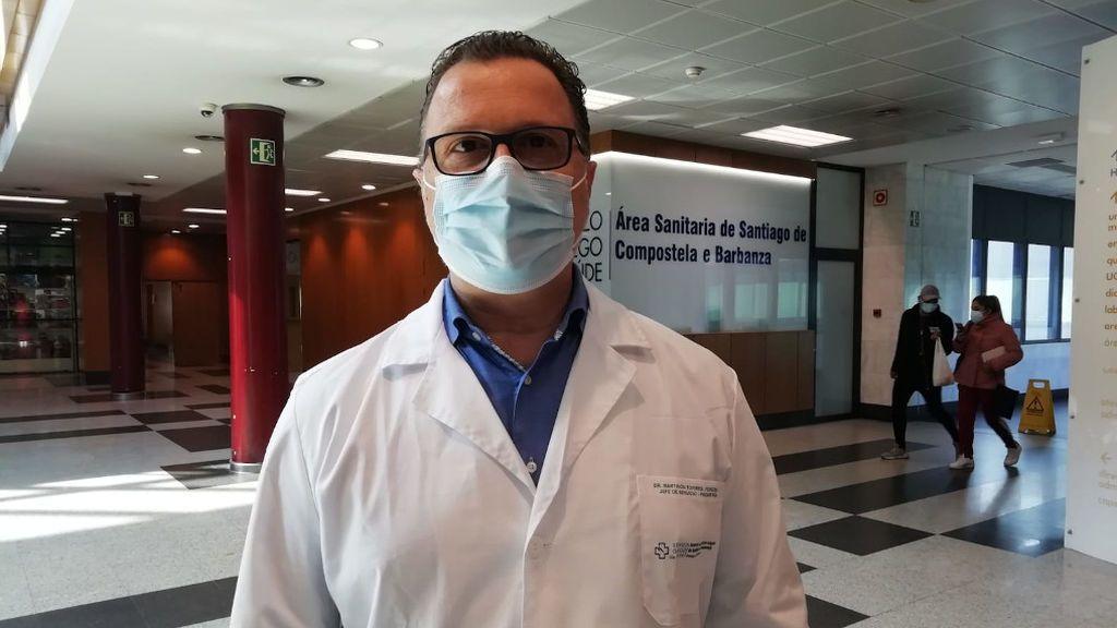 Federico Martinón-Torres, jefe de Pediatría en el Hospital Clínico de Santiago de Compostela