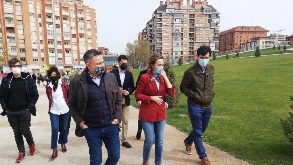 Cuca Gamarra se va a Logroño para hacer campaña por Ayuso para las elecciones del 4M en Madrid