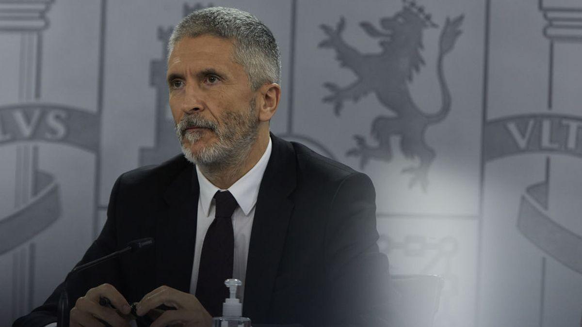 Vox se querella en el Supremo contra Marlaska por el cese de Pérez de los Cobos