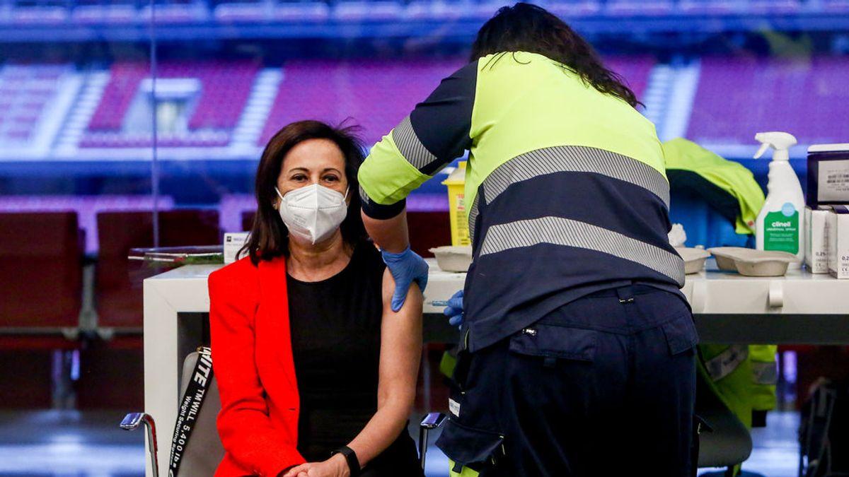 Robles, segundo miembro del Gobierno en vacunarse tras recibir la vacuna de AstraZeneca