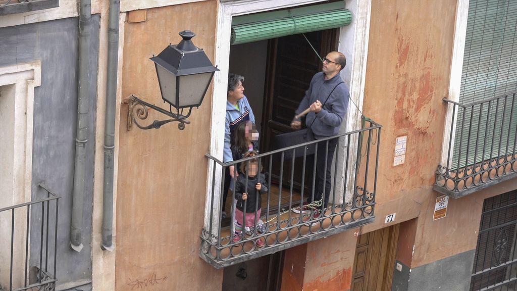 Las Turbas de Cuenca desde los balcones
