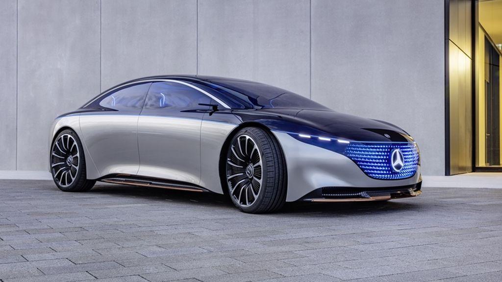 El Mercedes EQS, con más de 700 km,  será el rey de la autonomía eléctrica por delante de Tesla