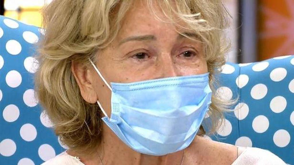 Mila Ximénez recibe el alta hospitalaria