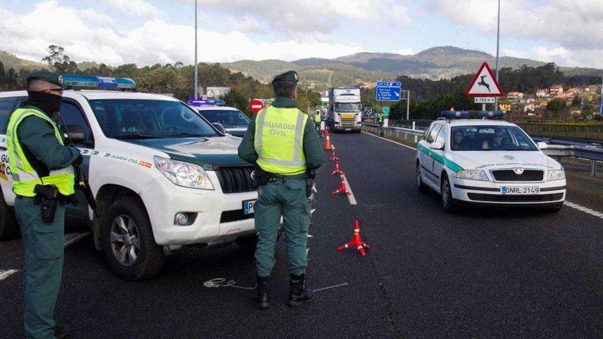 La Guardia Civil denuncia más de un millar de infracciones este jueves Santo en los controles de carreteras