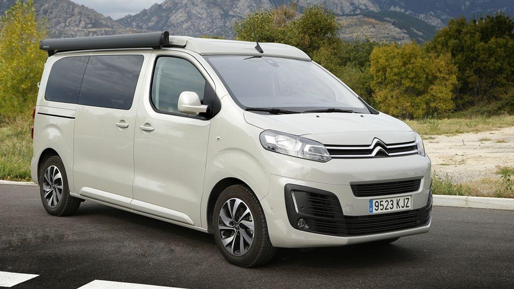 La Citroën Spacetourer es una cómodo vehículo para viajar