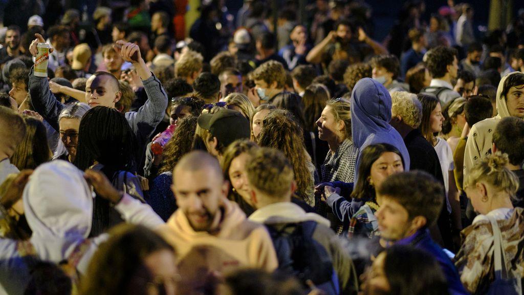 Falso festival en Bruselas