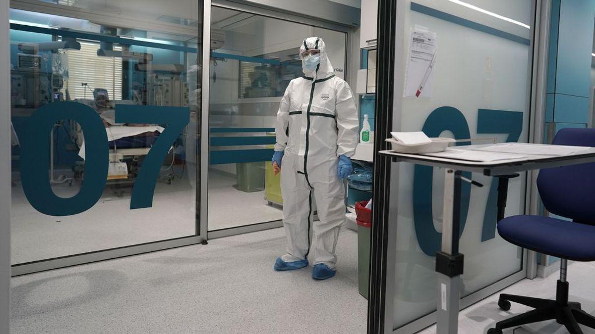 Madrid sufre un repunte de hospitalizados y muertos por coronavirus