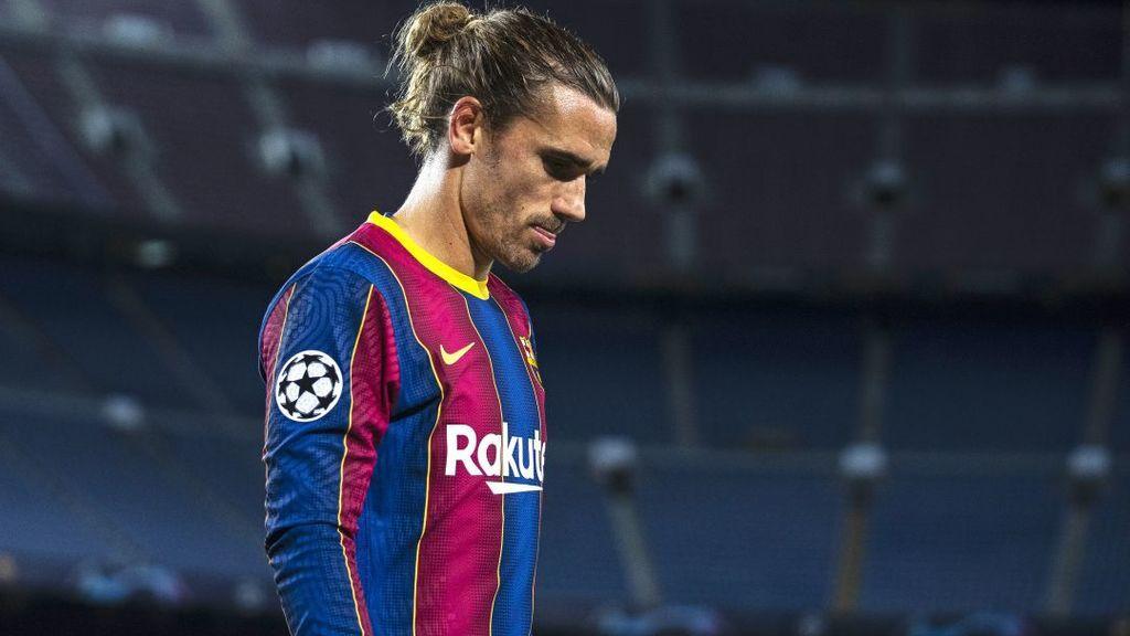 """Los gritos de un aficionado del Barça en la llegada de Griezmann al entrenamiento: """"Espabila ya"""""""
