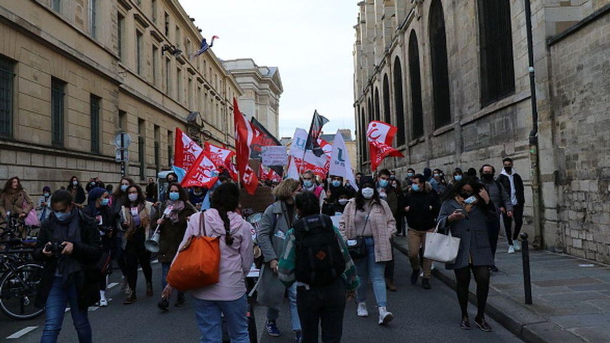 La UNEF, el sindicato de estudiantes  que divide a la izquierda política gala