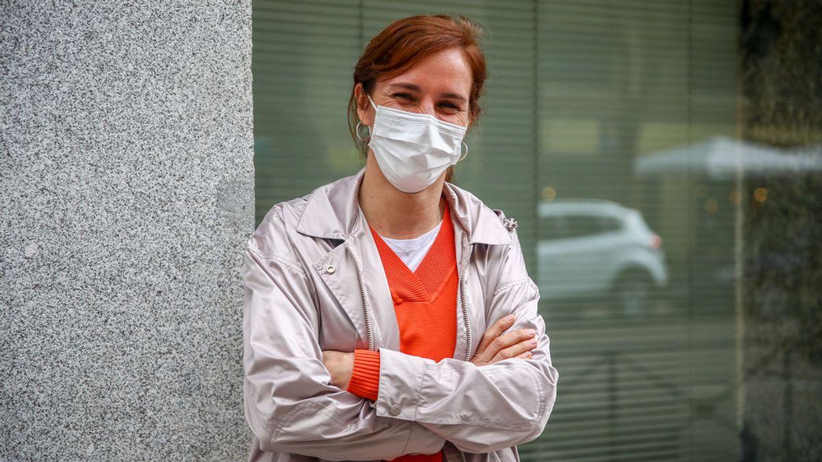 """La candidata de Más Madrid Mónica García critica a Ayuso por un plan de vacunación """"abochornante"""""""