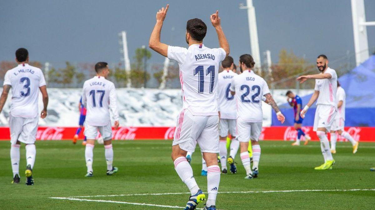 Asensio homenajea a su abuela fallecida con la dedicatoria de su gol