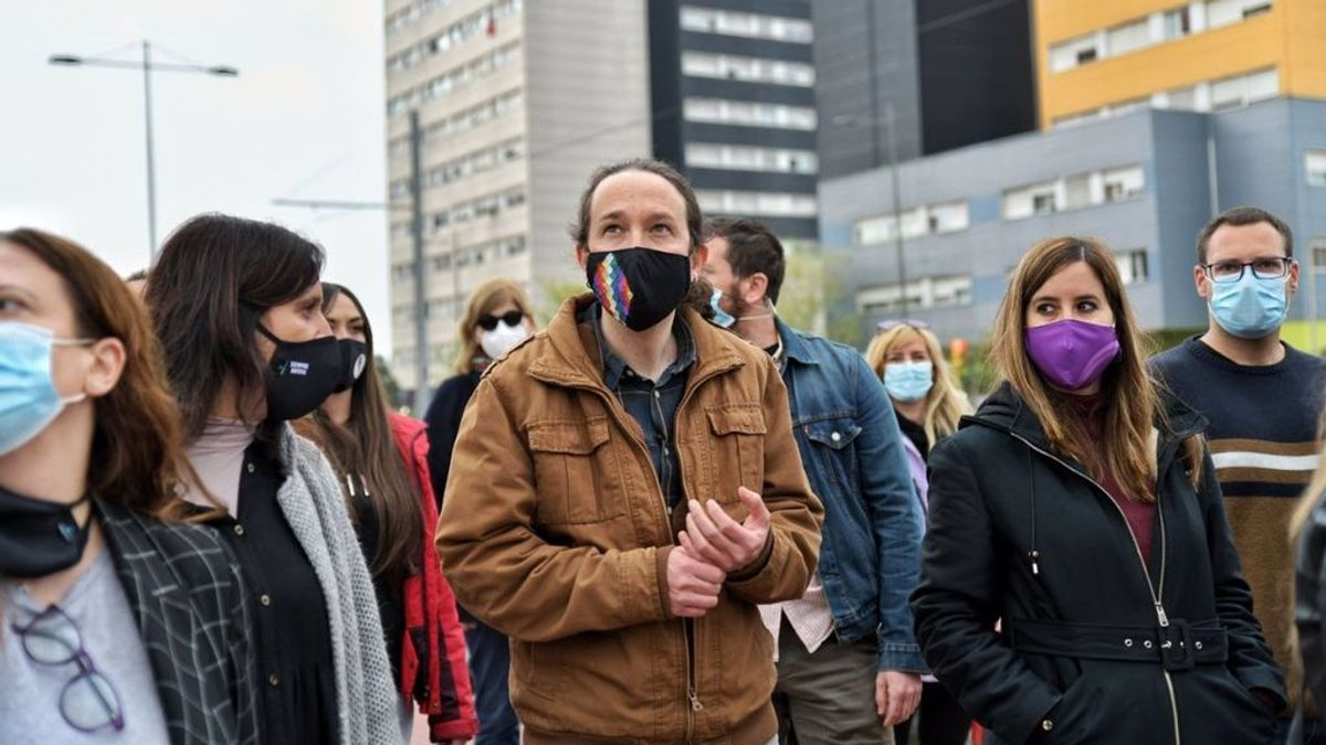 """Pablo Iglesias condiciona el cambio de gobierno a que """"los barrios trabajadores vayan a votar"""""""