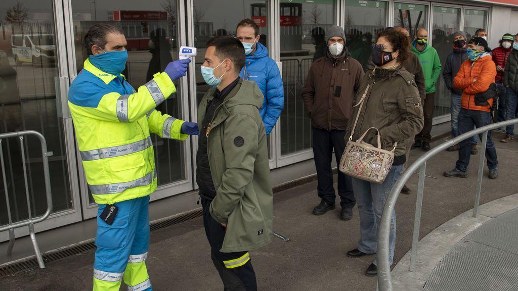Madrid vacunará a personas de entre 60 y 65 años en el Wizink Center