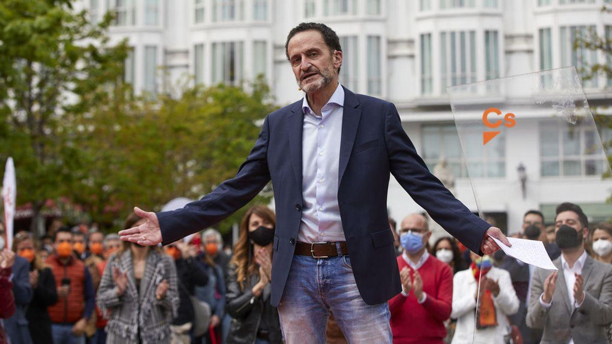 """Elecciones Madrid 2021: Ciudadanos resta valor a las encuestas por ser """"una foto fija"""" y estar """"aún en el minuto 1"""" de la campaña"""