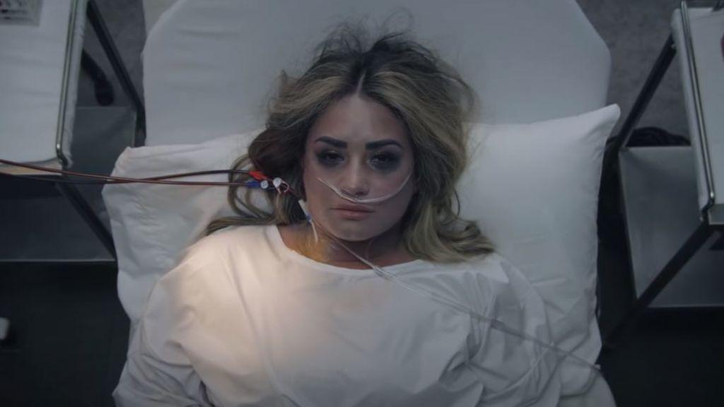 Demi Lovato en su último videoclip