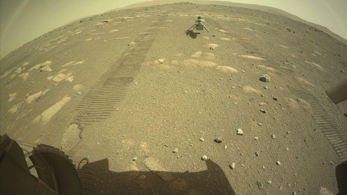 El 'Ingenuity' ya está listo para echar a volar en la atmósfera de Marte