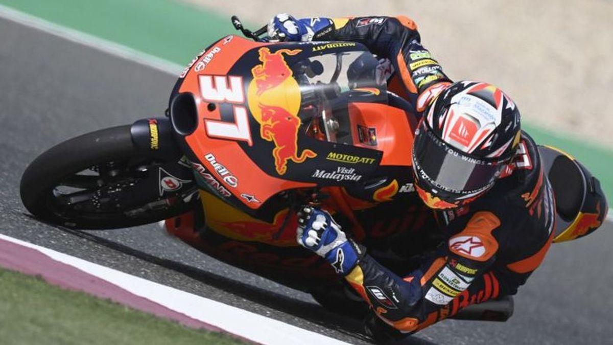 La proeza de Pedro Acosta en Doha: sale desde el 'pit-lane', gane la carrera y se pone líder de Moto3