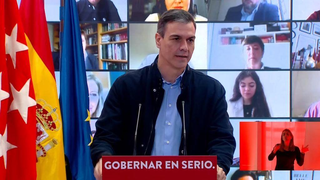 Elecciones Madrid 2021: Sánchez volverá a arropar este domingo a Gabilondo por tercera vez en esta precampaña
