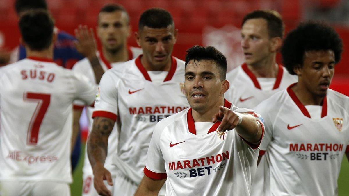 Oblak esta vez no puede con todo y el Sevilla gana al Atleti (1-0)