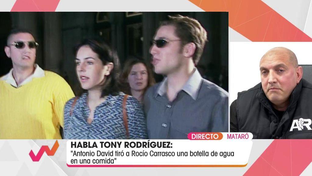 Tony Rodríguez fue guardaespaldas de Rocío Carrasco