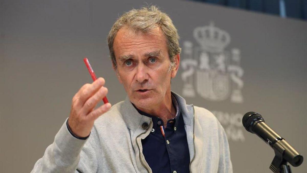 """Fernando Simón:  """"La cepa británica ya no es una variante nueva, es nuestra variante"""""""