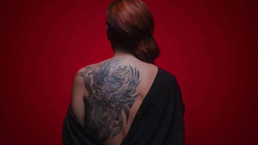 Por qué Rocío Carrasco se tatuó el nombre de Antonio David en la espalda, y no en otra parte del cuerpo