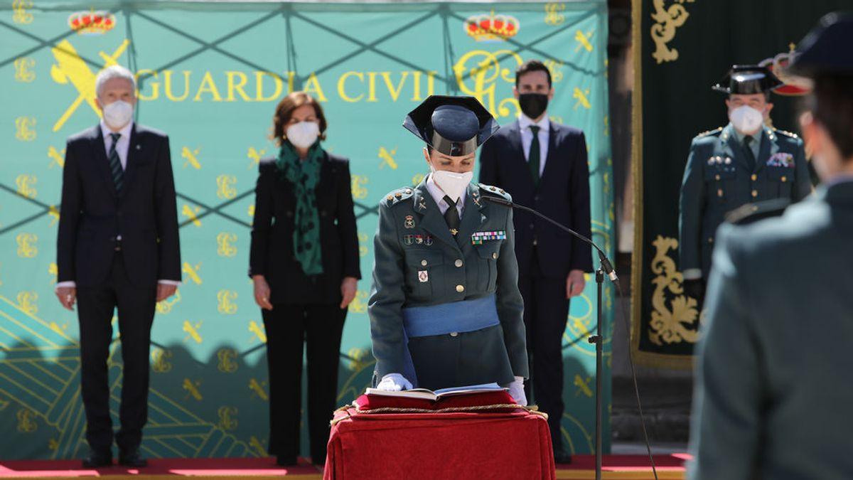 Toma posesión del cargo la teniente coronel Silvia Gil, primera mujer al frente de una comandancia de la Guardia Civil