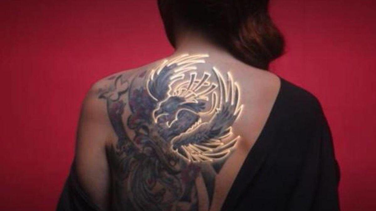 Por qué Rocío Carrasco se tatuó a Antonio David en la espalda, y no en otra parte del cuerpo