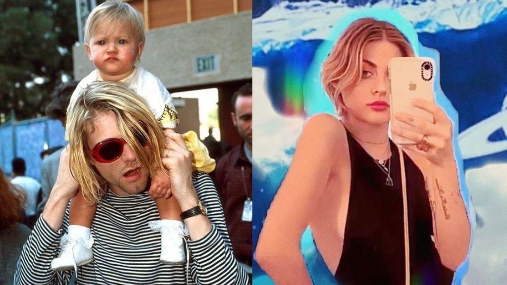 Orfandad, drogas y reinvención 'it': La vida de Frances, la hija de Kurt Cobain